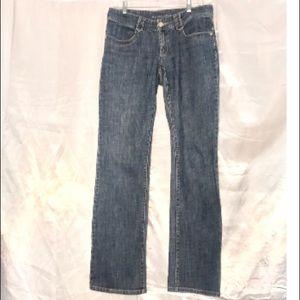 Michael Kors Straight Leg Medium Wash